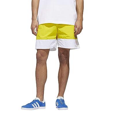 adidas Originals Pride Freestyle Shorts (Yellow/White) Men