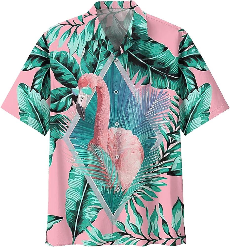 Flamingo Hawaiian Shirts Hawai Shirt Ranking TOP19 Ranking TOP1