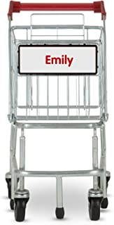 Melissa & Doug Personalized Toy Shopping Cart with Sturdy Metal Frame