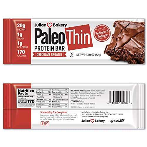 paleo diet bars nutrition