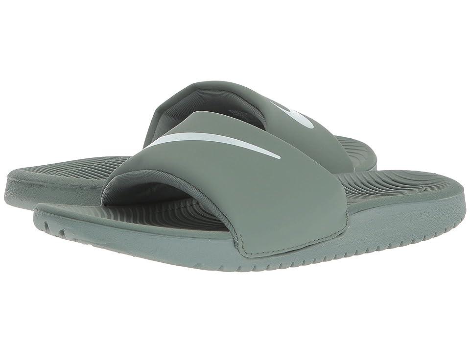 Nike Kids Kawa Slide (Little Kid/Big Kid) (Clay Green/Barely Grey) Boys Shoes