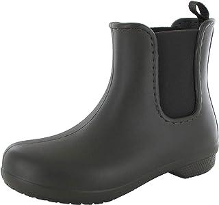 حذاء المطر فريسيل تشيلسي للنساء من كروكس