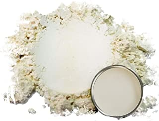 "Eye Candy Mica Powder Pigment ""Daigi Satin White"" (50g) Multipurpose DIY Arts and Crafts Additive | Woodworking, Epoxy, Resin, Natural Bath Bombs, Paint, Soap, Nail Polish, Lip Balm"