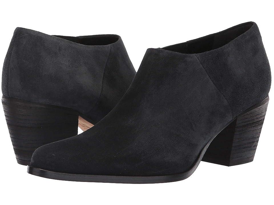 Vince Hamilton (Volcano Coco Sport Suede) Women's Shoes, Black
