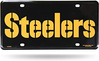 Rico Industries NFL Fan Shop Metal License Plate Tag
