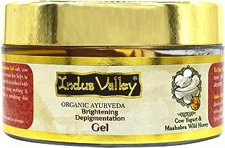 INDUS VALLEY Cow Yogurt & Honey Skin Lightening & Brightening Depigmentation Gel - (50ml)