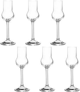 montana pure Obstler-Gläser, 6er Set, spülmaschinenfeste Digestif-Gläser, Spirituosen-Gläser im klassischen Stil, Likör-Gläser, 60 ml, 042436