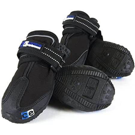 Canine Equipment Ultimate Trail Dog Boots, Black