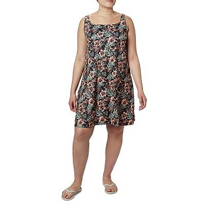 Columbia Plus Size Freezer III Dress (Black Vacation Vibes) Women