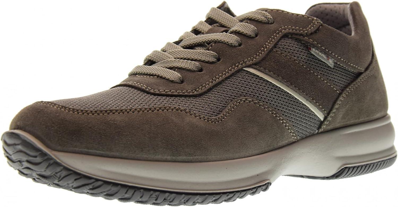 Enval Soft shoes Men Low Sneakers 1210244 Asphalt