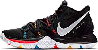 Kyrie 5 Mens Sneakers AO2918-006, Black/White/Bright Crimson, Size US 11