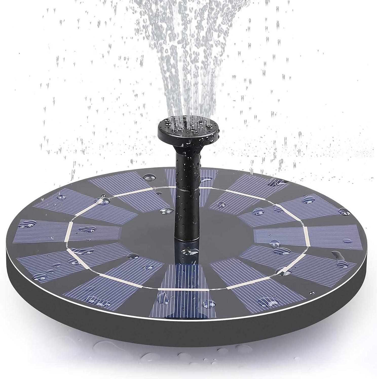 Lewisia Ranking TOP20 2.5W Battery Backup Solar 2021 Water Pump Atlanta Mall Upgraded