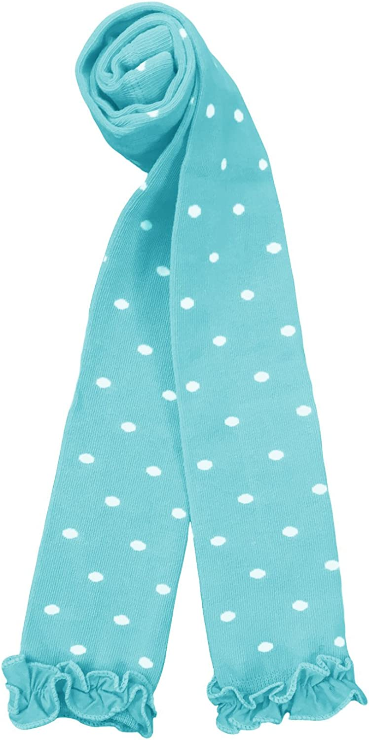 Luxury goods Country Kids Girls' Polka Dot Knit Limited time cheap sale Tigh Footless Stretchy Ruffle
