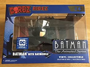 Dorbz Batman The Animated Series Batmobile Ridez with Batman Vinyl Figure