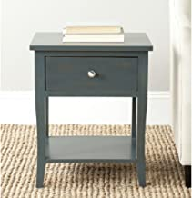 Safavieh American Homes Collection Coby End Table, Steel Teal