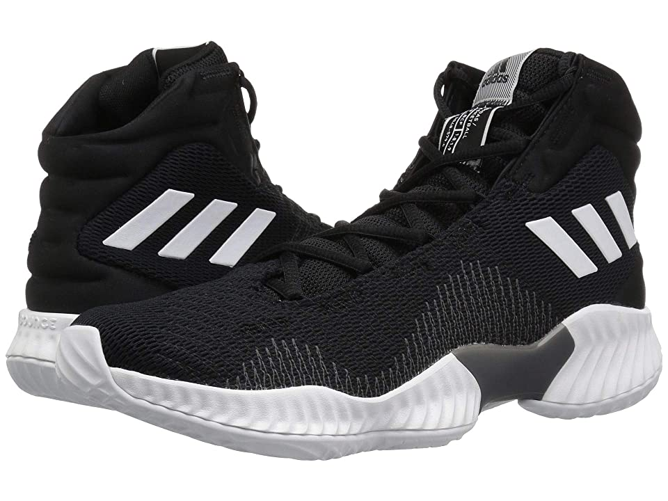 adidas Pro Bounce (Black/White/Black) Men
