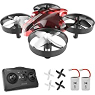 Mini Drones for Kids and Beginners Remote Control Toys, Quadcopter 2.4Ghz 6-Axis Gyro 4 Channels,...
