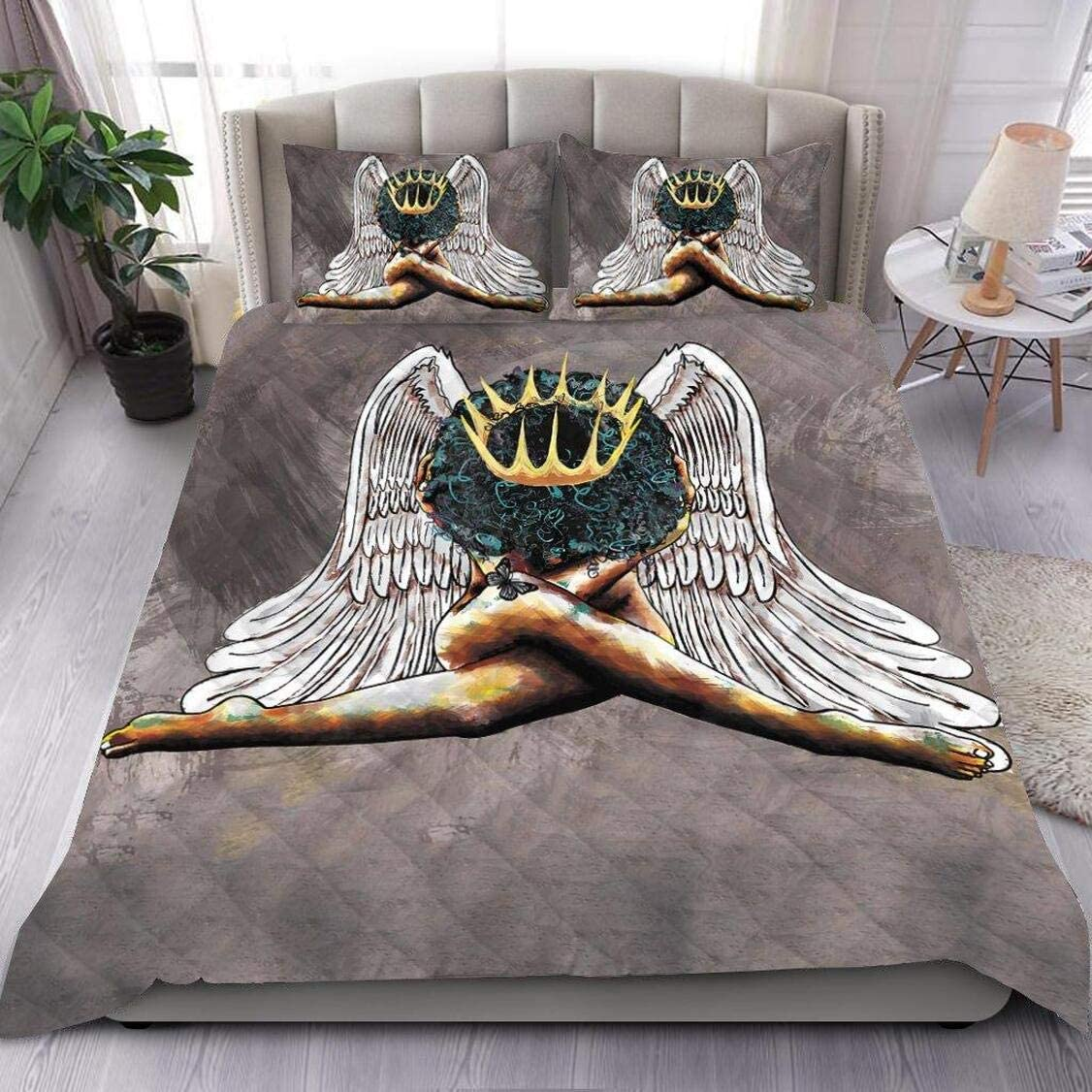 Personalized Black New Free Shipping Girl Queen Quilt Inexpensive Gift All Your Se for Lovers