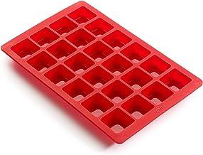 Lekue 24 Cavity Mini Brownie Mold Pan, Model # , Red