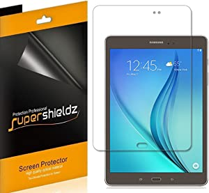 (3 Pack) Supershieldz Designed for Samsung Galaxy Tab A 8.0 inch (2015) (SM-T350 Model Only) Screen Protector, High Definition Clear Shield (PET)