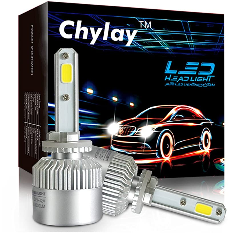 Chylay 881 LED Fog Bulb For Car Led headlight with 2 Pcs of Conversion Kits 72W 8000LM Bridgelux COB Chips Fog Light (S2-881)