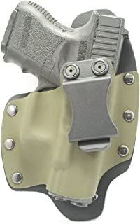 Infused Kydex USA OD Green IWB Hybrid Concealed Carry Holsters for More Than 180 Different Handguns. Left & Right Versions Available.
