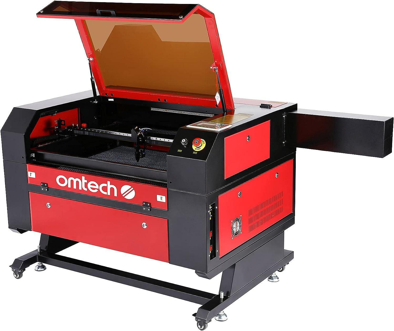 OMTech 100W CO2 Laser Engraver Cutter - High-End Laser Cutting Machine