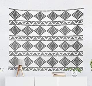 threetothree Native American Art Wall Tapestry, 60X50 Inches Decorative Wall Hanging Tapestry Tribal African Native American Aztec Basket Ethnic and Boho for Bedroom Living Room Tablecloth Dorm