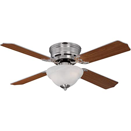Westinghouse Lighting 7212800 Hadley Indoor Ceiling Fan With Light 42 Inch Brushed Nickel Home Improvement