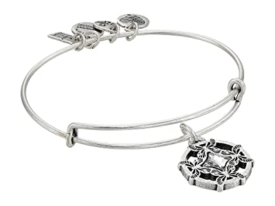 Alex and Ani Charity By Design, Wings of Change II Charm Bangle (Rafaelian Silver) Bracelet