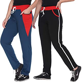 69GAL Women's Regular Fit Trouser (Pack of 2)