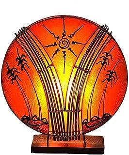 Pagode Beleuchtet warmweiß Led´s Deko JAPAN Asien Haus Leuchte Lampe 60cm NEU