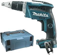 Batería–Atornilladora eléctrica (18V, incluye 2baterías y cargador, en MAKPAC0)