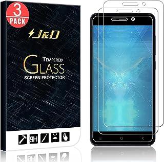 J&D Compatible para 3-Pack Xiaomi Redmi 4A Protector de Pantalla, [Vidrio Templado] [NO Cobertura Completa] Cristal Templado Protector de Pantalla para Xiaomi Redmi 4A