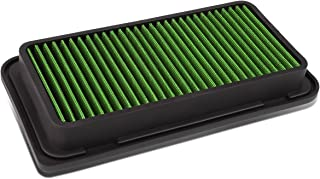 For Corolla/Matrix/TC / 86 / FR-S/BRZ Reusable & Washable Replacement Air Filter (Green)