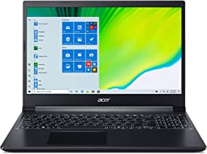 "Acer Aspire 7 Laptop, 15.6"" Full HD IPS Display, AMD Ryzen 5 3550H, NVIDIA GeForce GTX 1650, 8GB DDR4, 512GB NVMe SSD, Bac..."