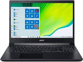 "Acer Aspire 7 Laptop, 15.6"" Full HD IPS Display, 9th Gen Intel Core i5-9300H, NVIDIA GeForce GTX 1650, 8GB DDR4, 512GB NVM..."