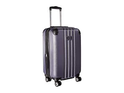 Kenneth Cole Reaction 20 Reverb Lightweight Hardside Expandable 8-Wheel Spinner Carry-On Suitcase (Smokey Purple) Luggage