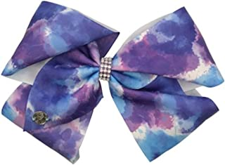 JoJo Siwa Large Cheer Hair Bow (Blue/Purple Tie Dye)