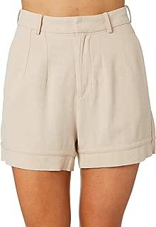 Swell Women's Maison Short Cotton Linen Brown