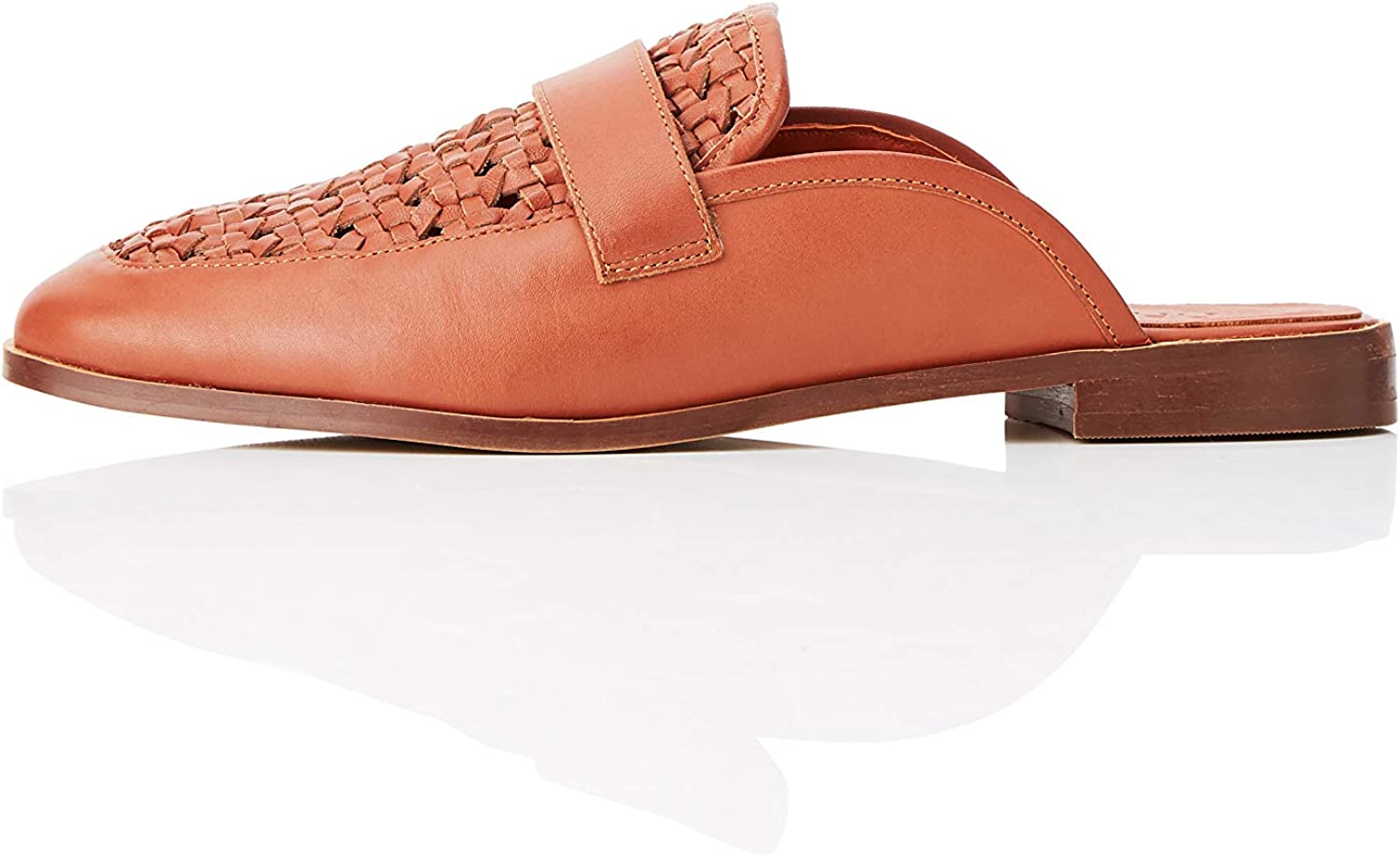 Amazon Brand - find. Woven Loafer Max 42% OFF Backless Women's trust