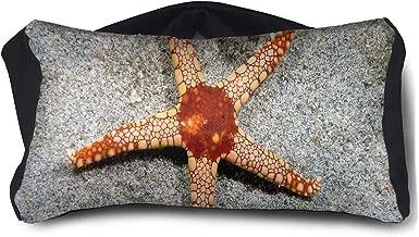 Eye Pillow Starfish Orange Fabulous Mens Portable Blindfold Train Sleep Eye Bag Bed