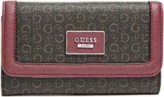 GUESS Factory Womens Burnley Slim Wallet Clutch Bag