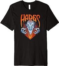 Disney Hercules Angry Hades Flames Portrait Logo Premium T-Shirt