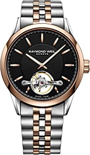 Raymond Weil Mens 2780-SP5-20001 Freelancer Analog Display Swiss Automatic Two Tone Watch