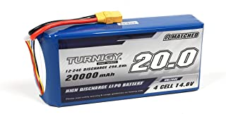 Turnigy High Capacity 20000mAh 4S 12C Multi-Rotor Lipo Pack w/XT90