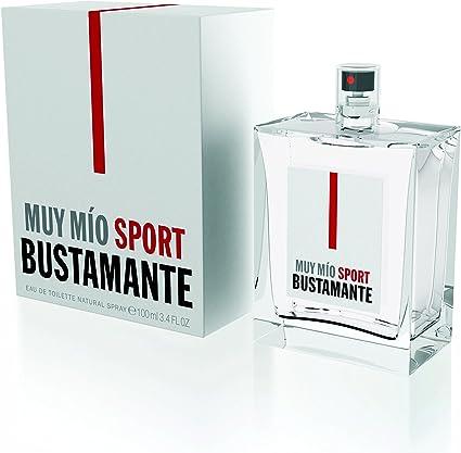 Bustamante Muy Mio Sport Agua De Colonia 100 Ml Amazon Es Belleza