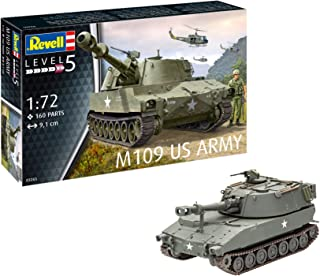 Revell 03265, M109 US Army, 1:72 Scale Plastic Model
