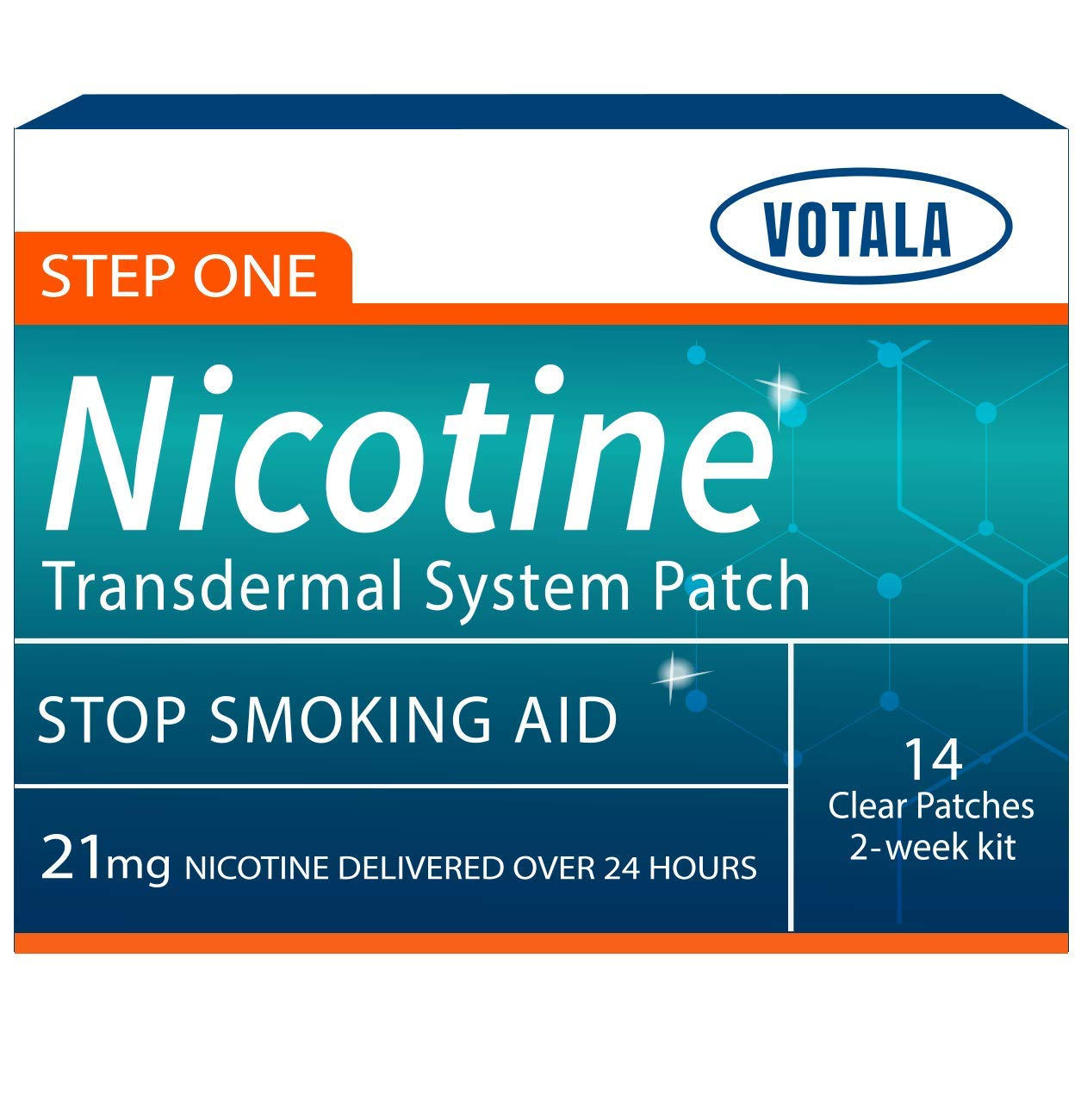 Votala Nicotine Patches Delivered Transdermal