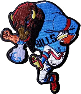 Buffalo Bills Rare Embroidered Iron on Patch NFL Vintage Mint Awesome Patches